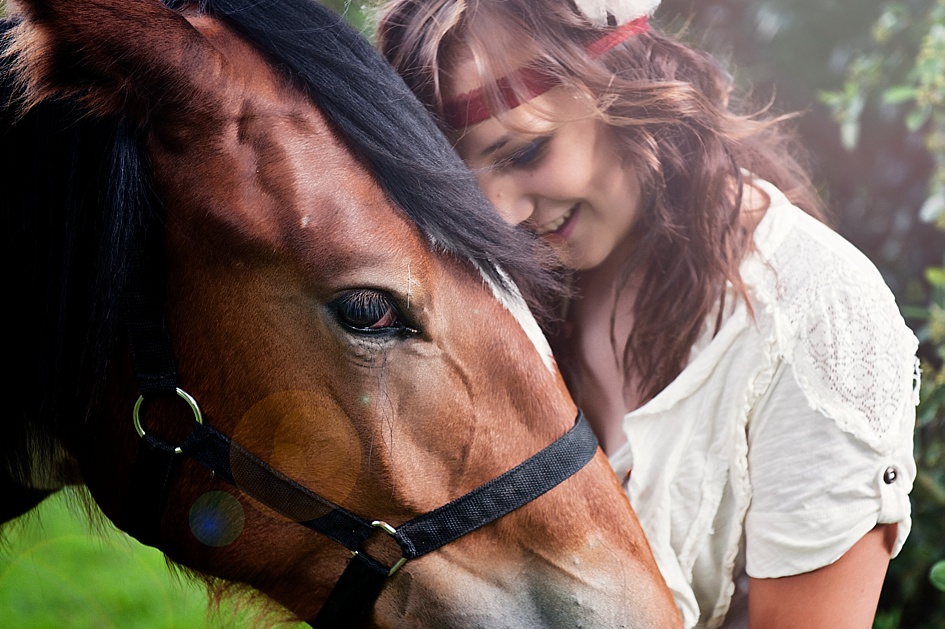 Matric Students from Boksburg.  Horse Photography.